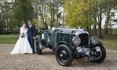 Wedding Car - 1952 Bentley MK 6 'Blower' replica