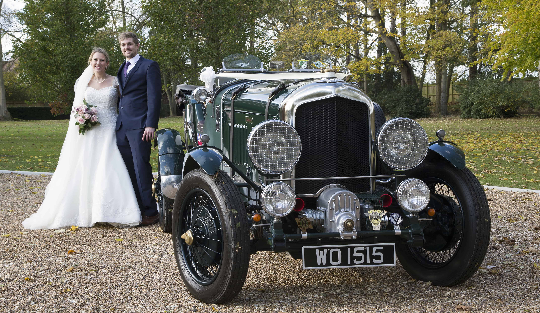 Wedding Car - 1952 Bentley MK 6 'Blower' replica   The