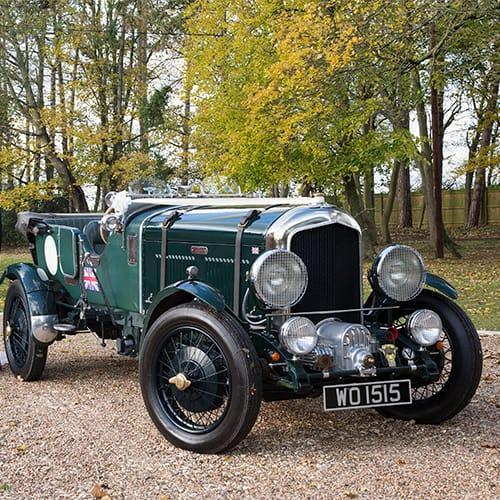 Wedding Car - Bentley MK 6 'Blower' Replica