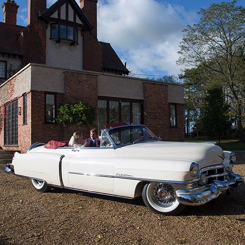 Wedding Car - Cadillac Series 62 Convertible