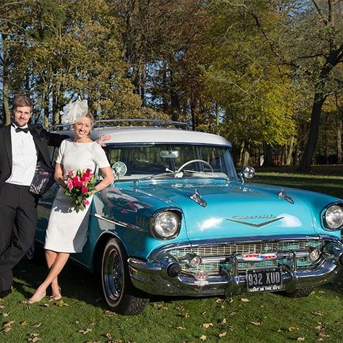 Wedding Car - Chevy Bel Air Wagon