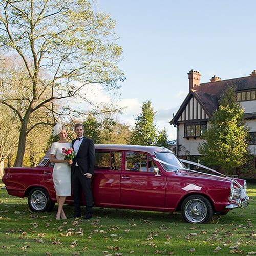 Wedding Car - Ford Cortina Mk1 Limousine