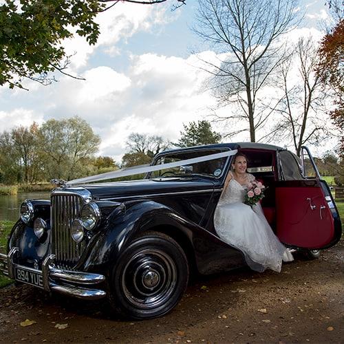 Wedding Car - Jaguar Drophead Coupe