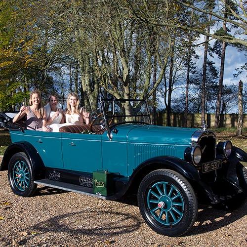Wedding Car - Oldsmobile Model 30 Series E